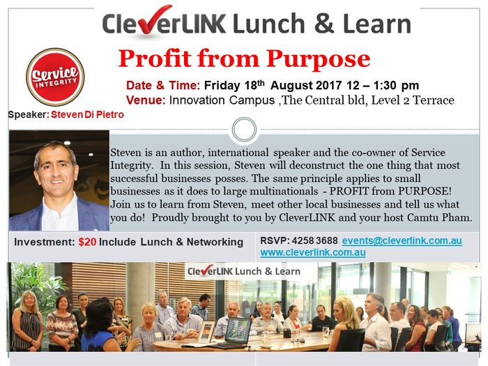 CleverLINK Lunch & Learn